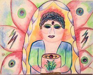 Woman Buddah